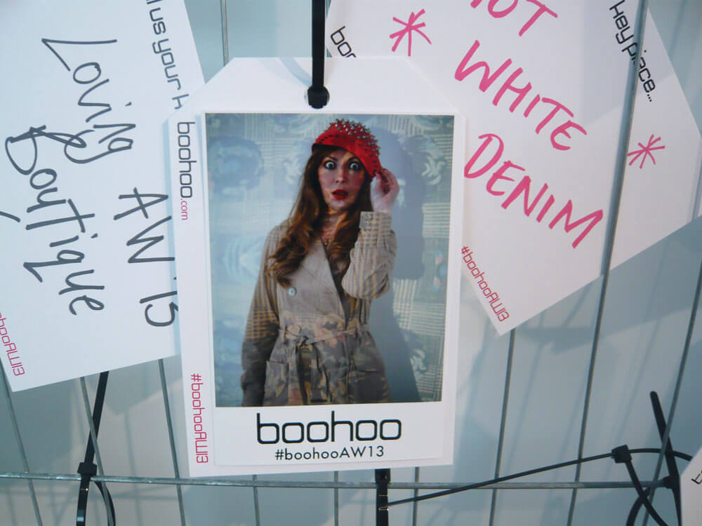 Edita at Boohoo AW 2013 Press Day