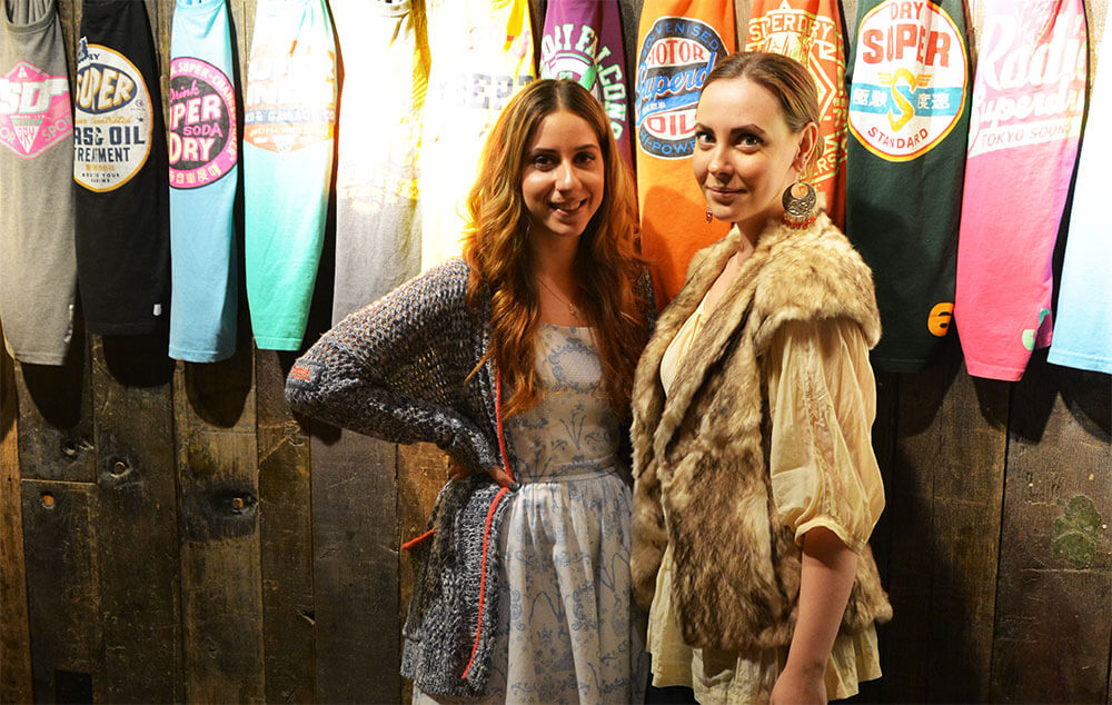 Edita at Superdry Press Day