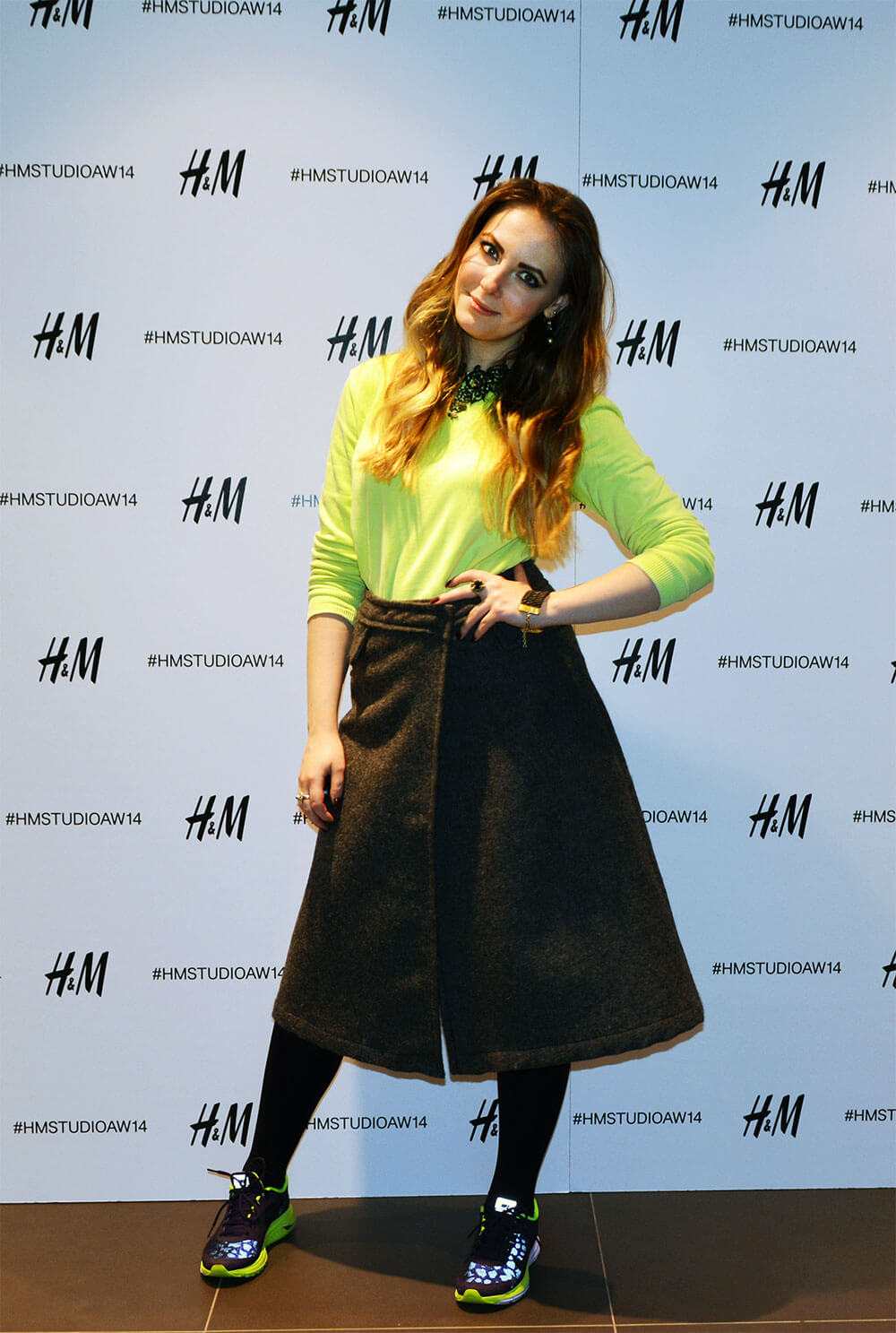 Edita at H&M PFW London screening party 13