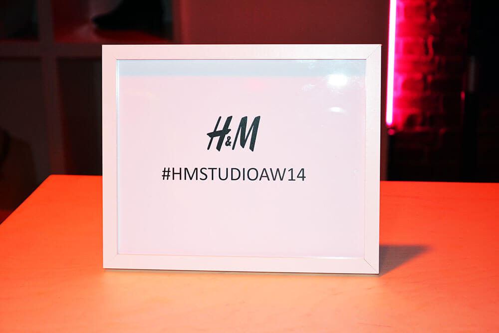 Edita at H&M PFW London screening party 3