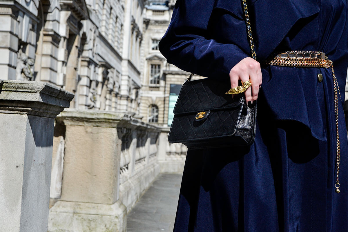 In Dorotea P London, Chanel, Givenchy and BCBG 2