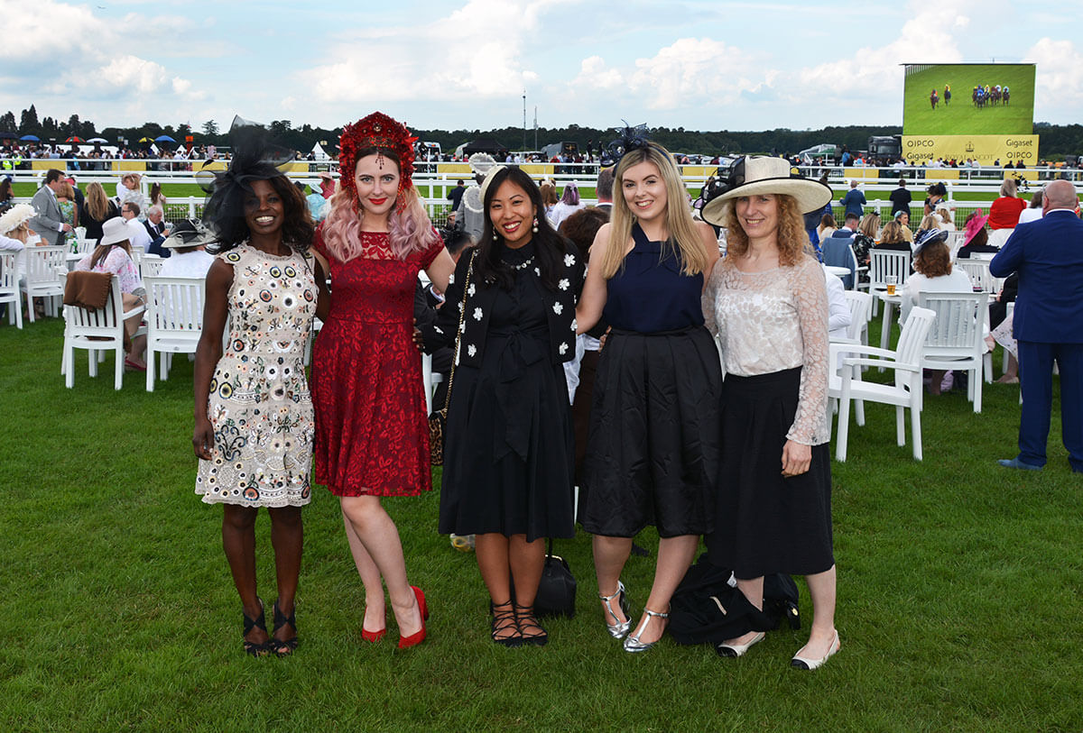 Edita at Royal Ascot in Hot Squash and Creations by Liv Free 14