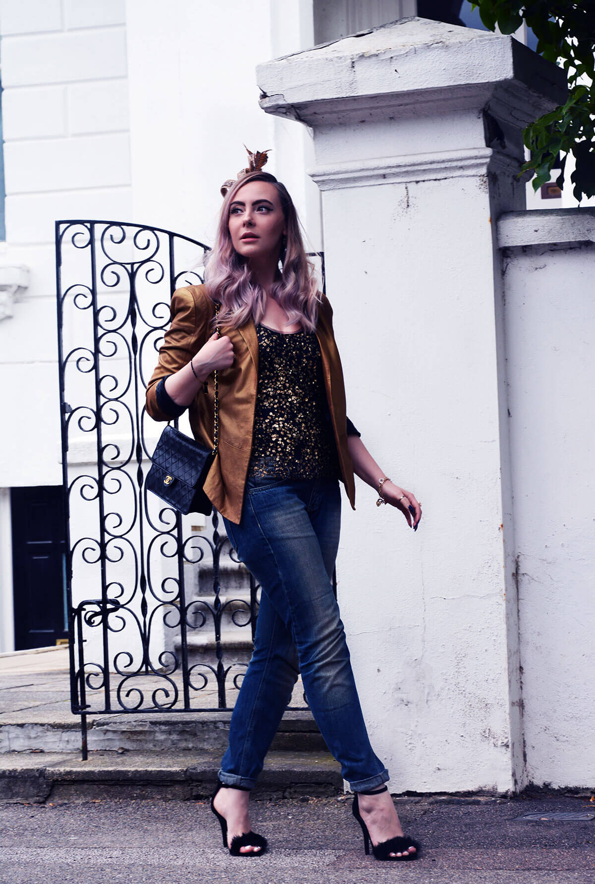Edita in Biba, ASOS, Chanel and Boohoo 3
