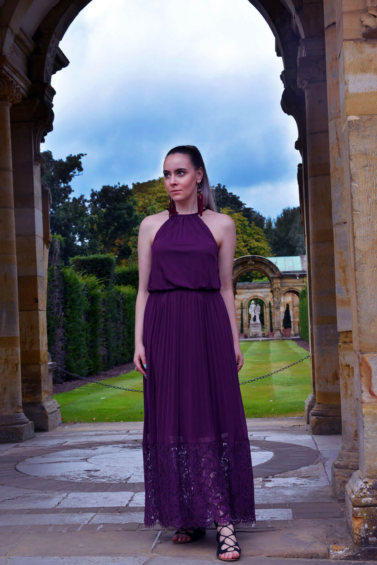 Edita at Hever Castle in JD WIlliams, New Look and H&M 1