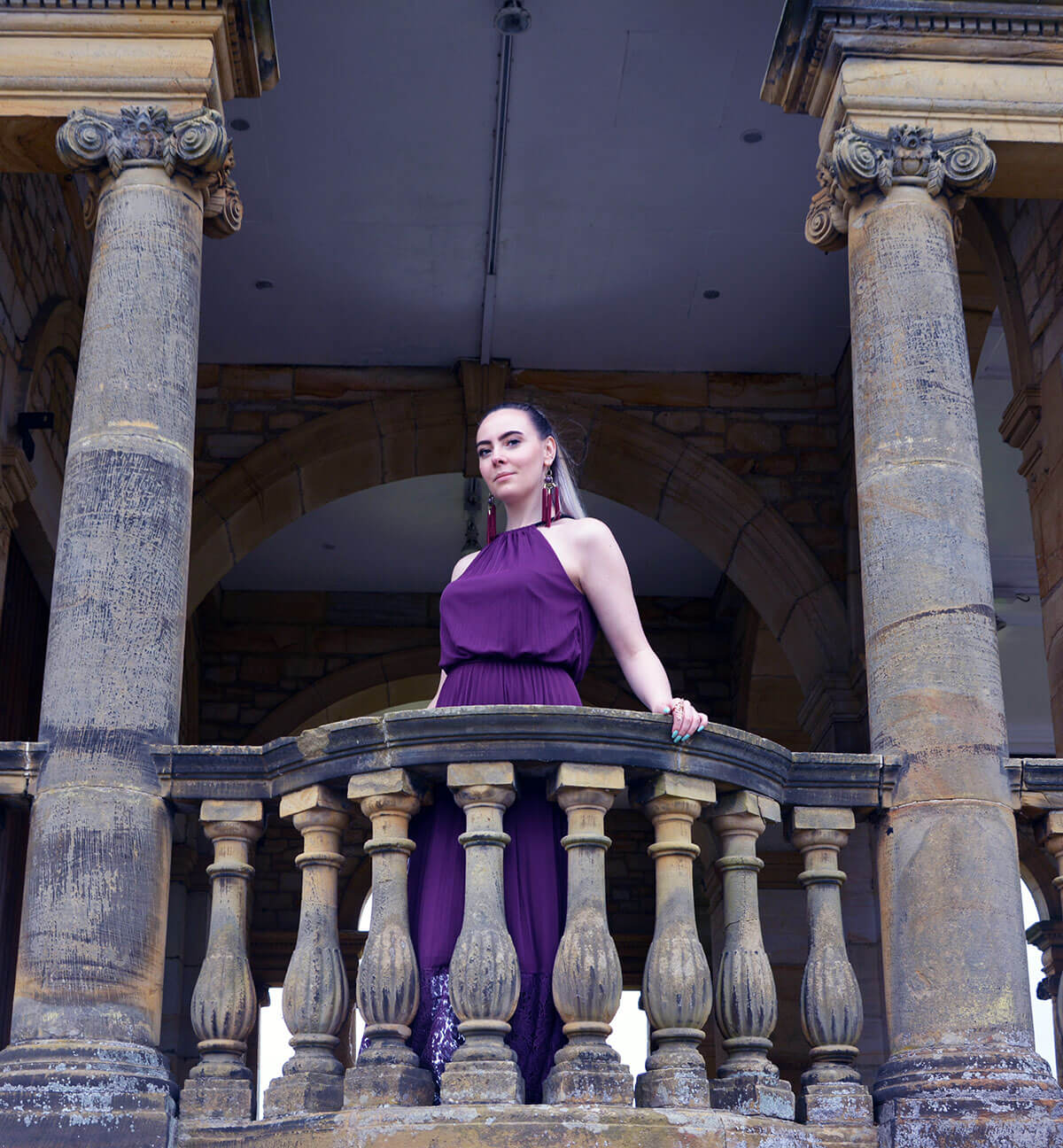 Edita at Hever Castle in JD WIlliams, New Look and H&M 10