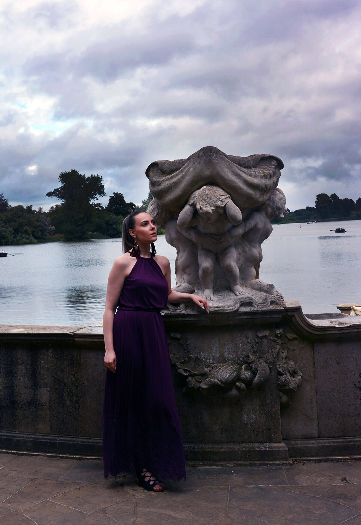 Edita at Hever Castle in JD WIlliams, New Look and H&M 13