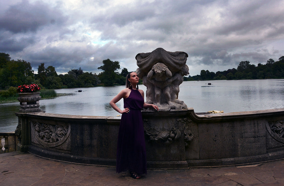 Edita at Hever Castle in JD WIlliams, New Look and H&M 14