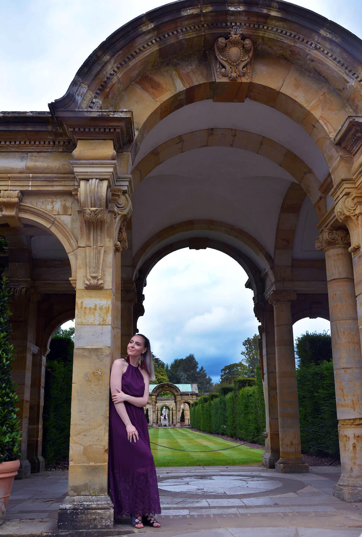 Edita at Hever Castle in JD WIlliams, New Look and H&M 2