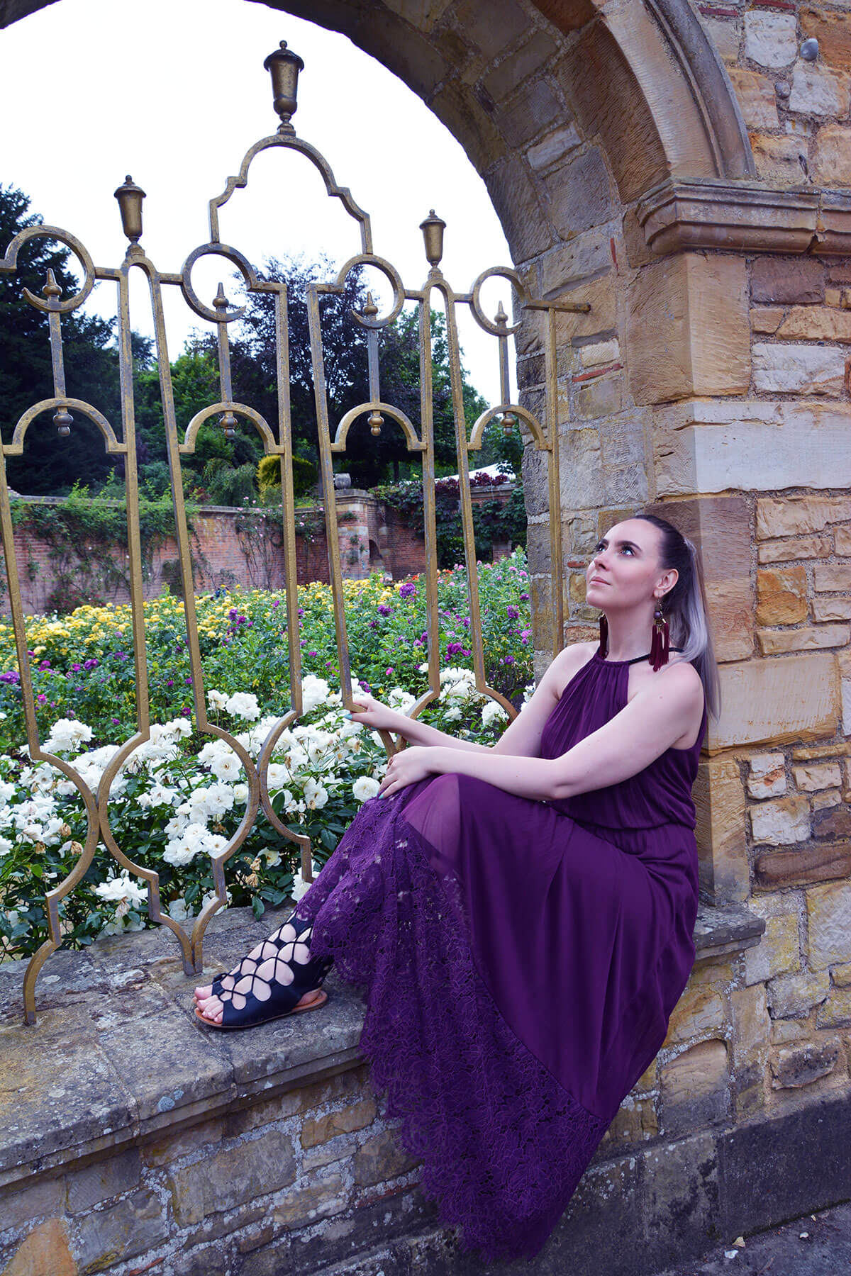 Edita at Hever Castle in JD WIlliams, New Look and H&M 4