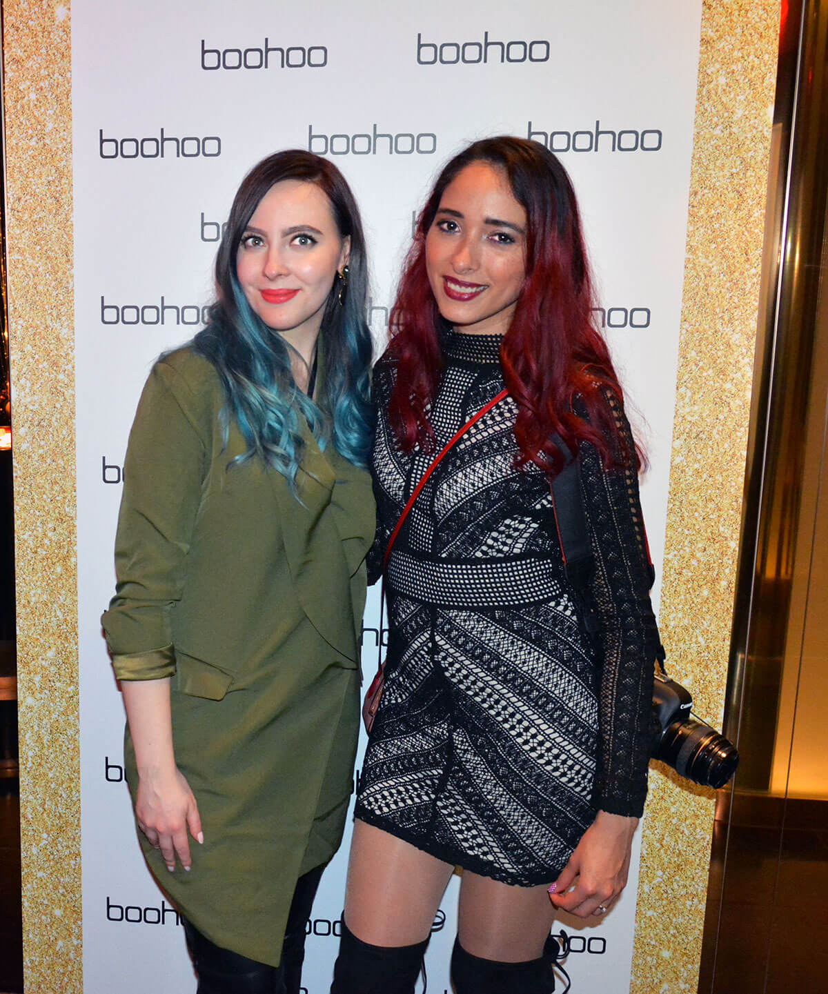 Edita at Boohoo Christmas Party 2016 5