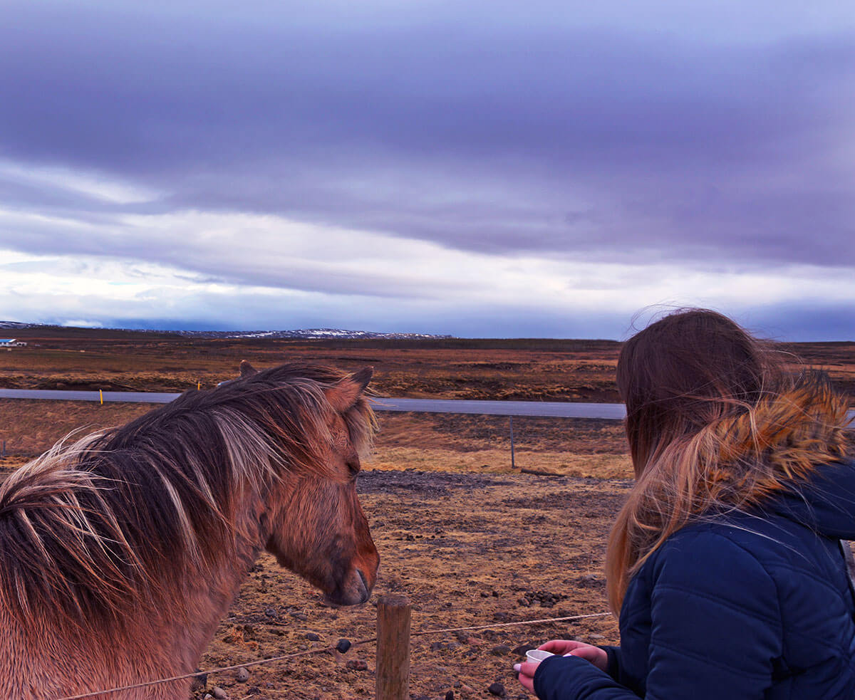 Edita in Iceland Travel Blogger