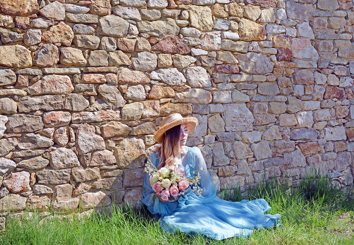 Fashion blogger in Provence